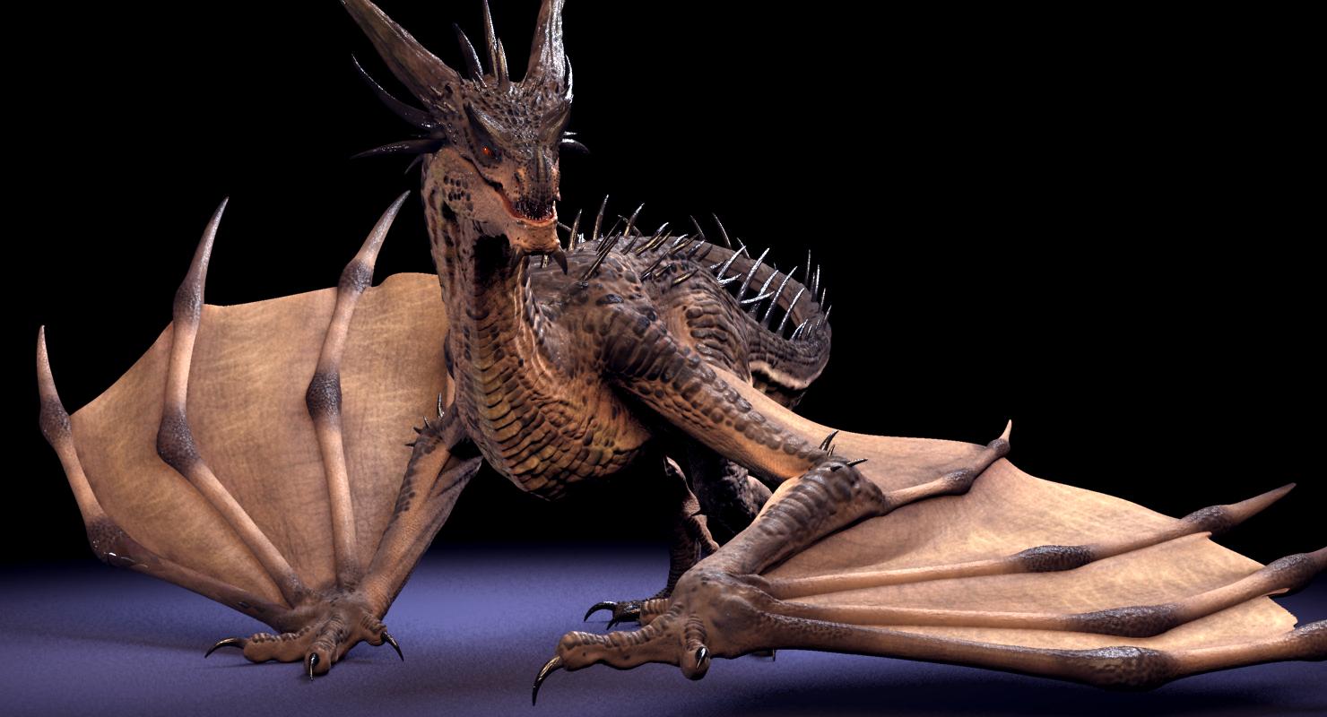 Ảnh rồng 3D đẹp