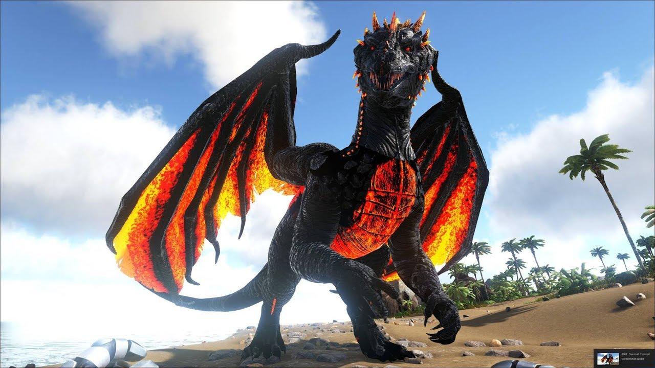 Ảnh rồng lửa 3D đẹp
