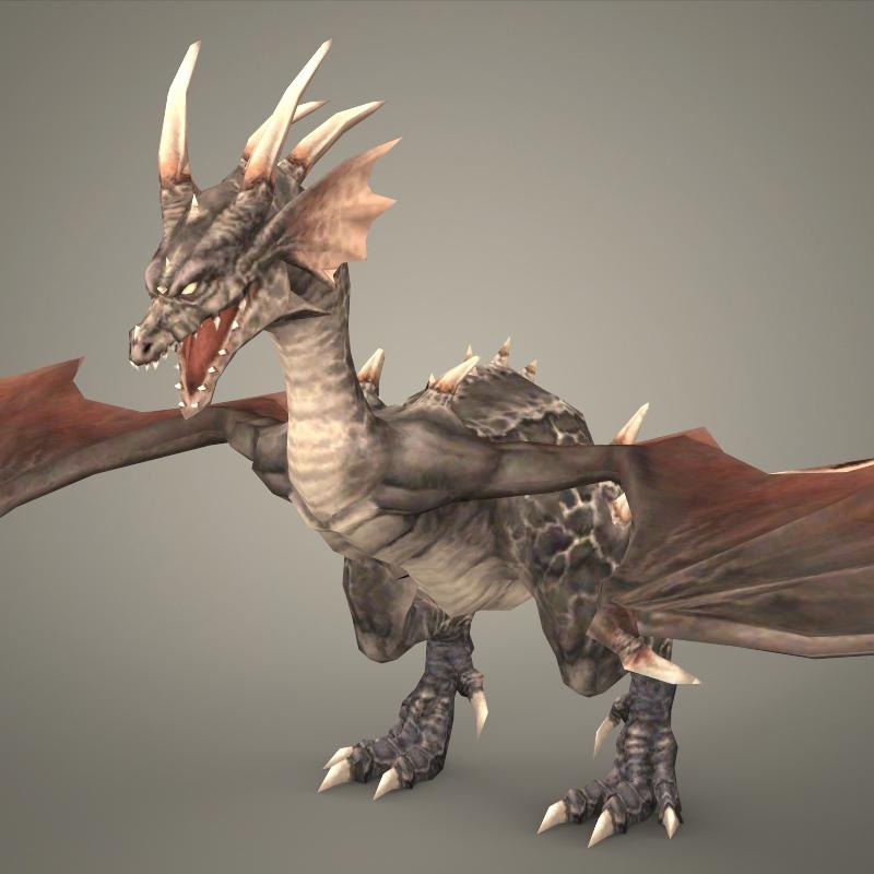 Hình ảnh rồng 3D sáng tạo
