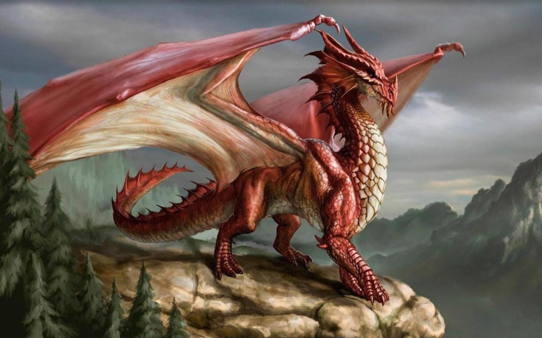 Hình ảnh rồng lửa 3D đẹp nhất