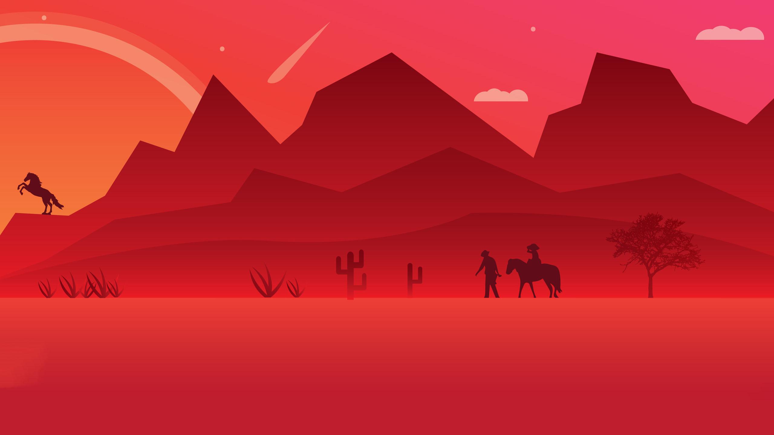 Hình nền 3D màu đỏ