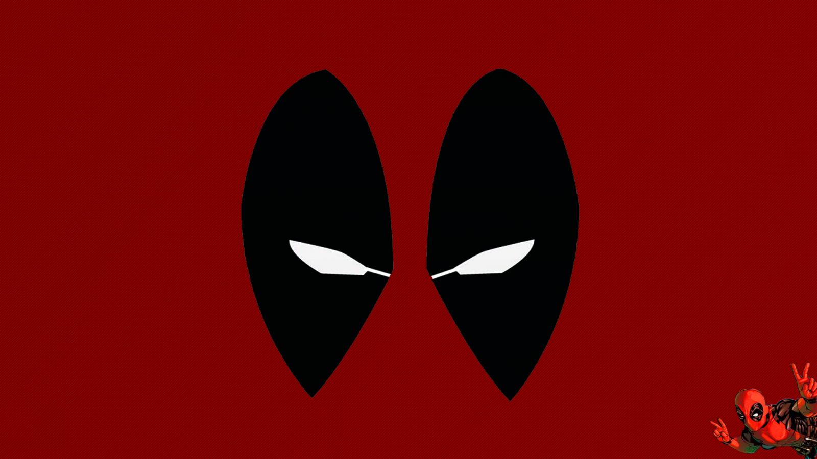 Hình nền deadpool đỏ