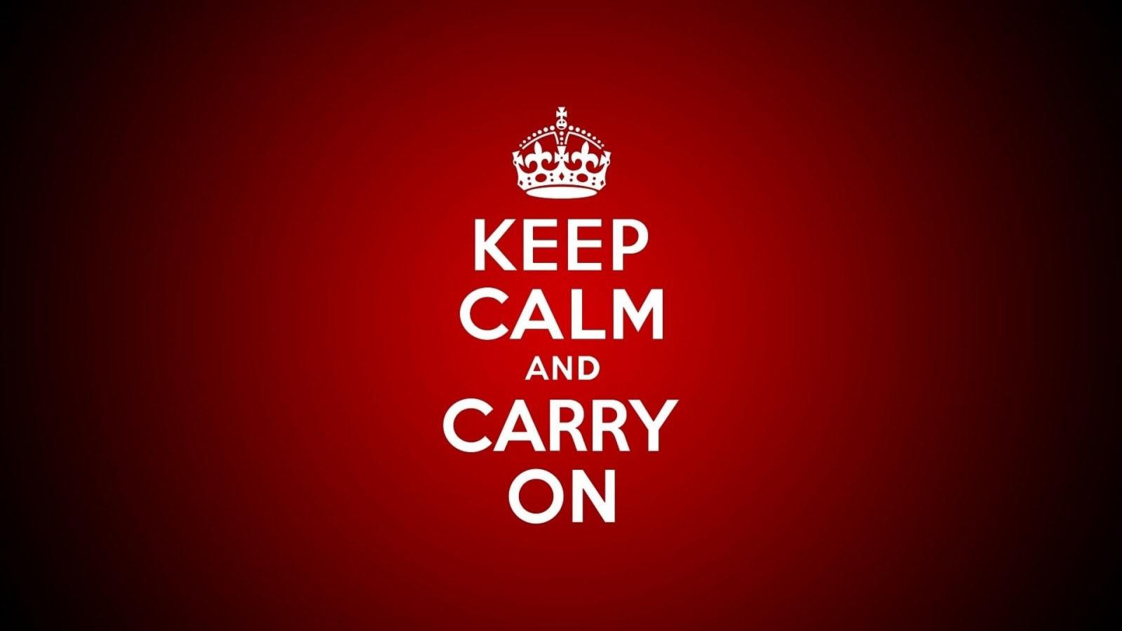 Hình nền keep calm màu đỏ
