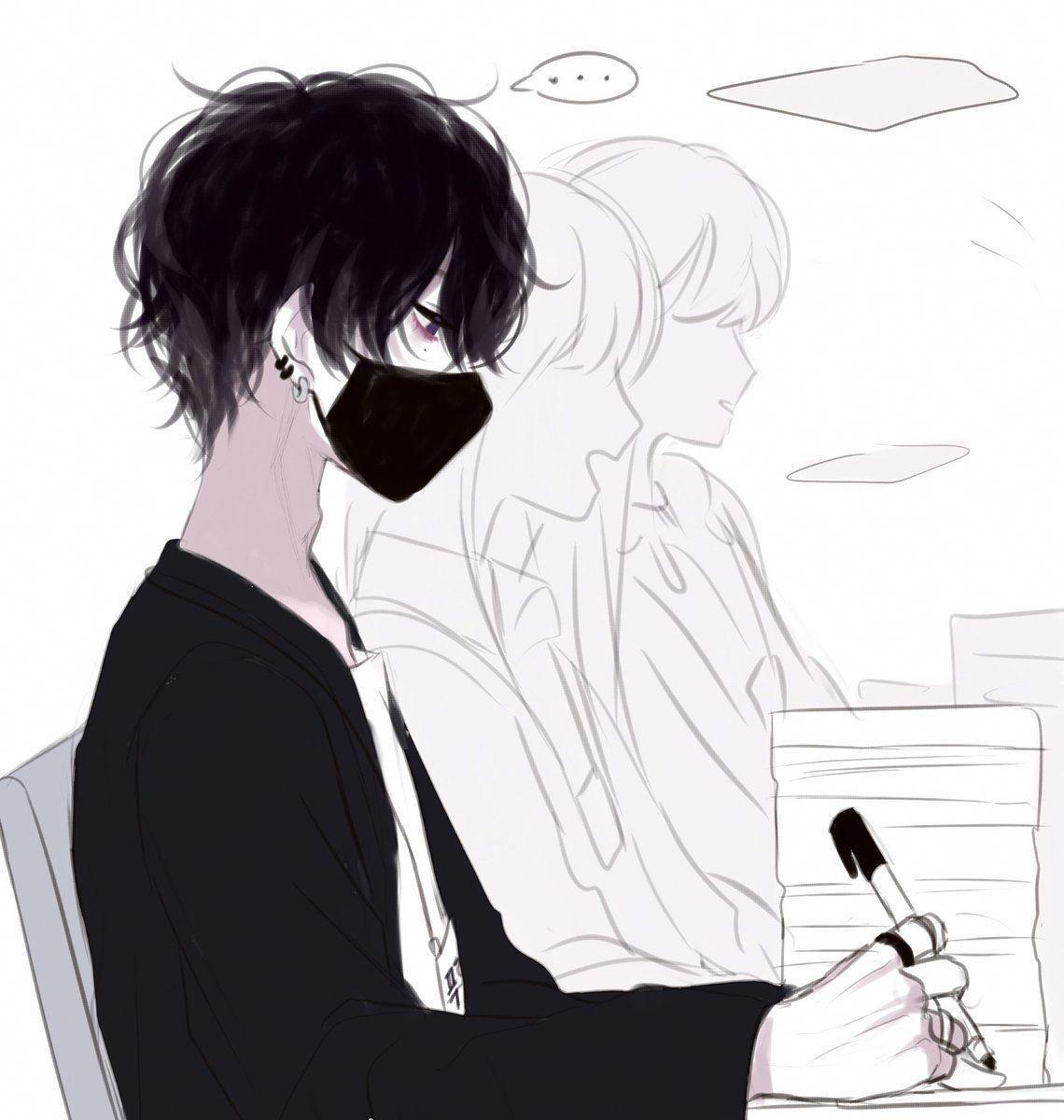 Ảnh Anime đen trắng đẹp nhất