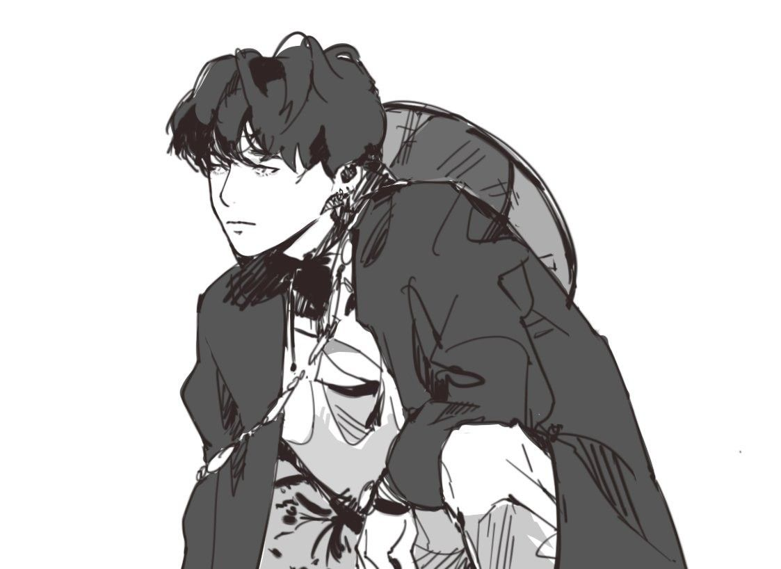 Hình Anime trắng đen đẹp nhất
