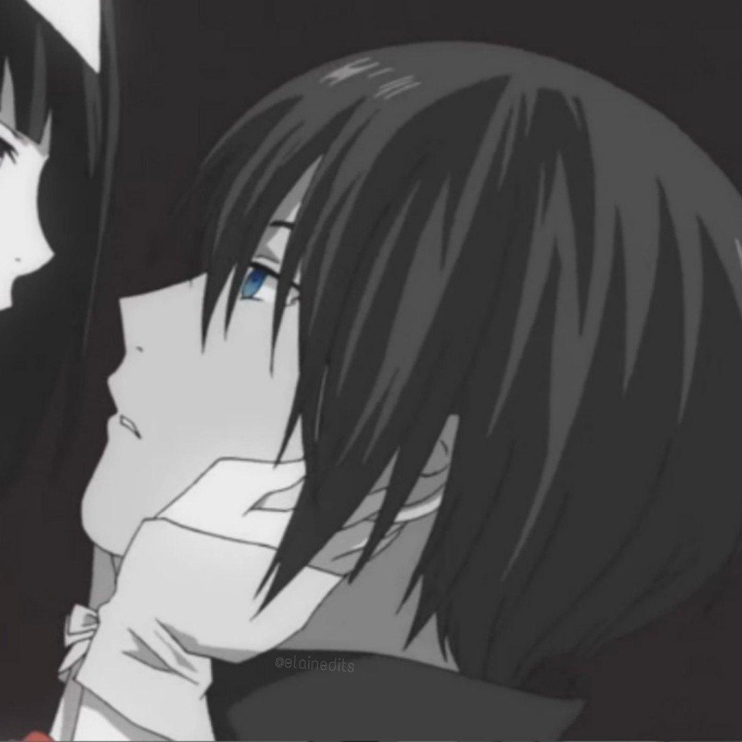 Hình Anime trắng đen đẹp