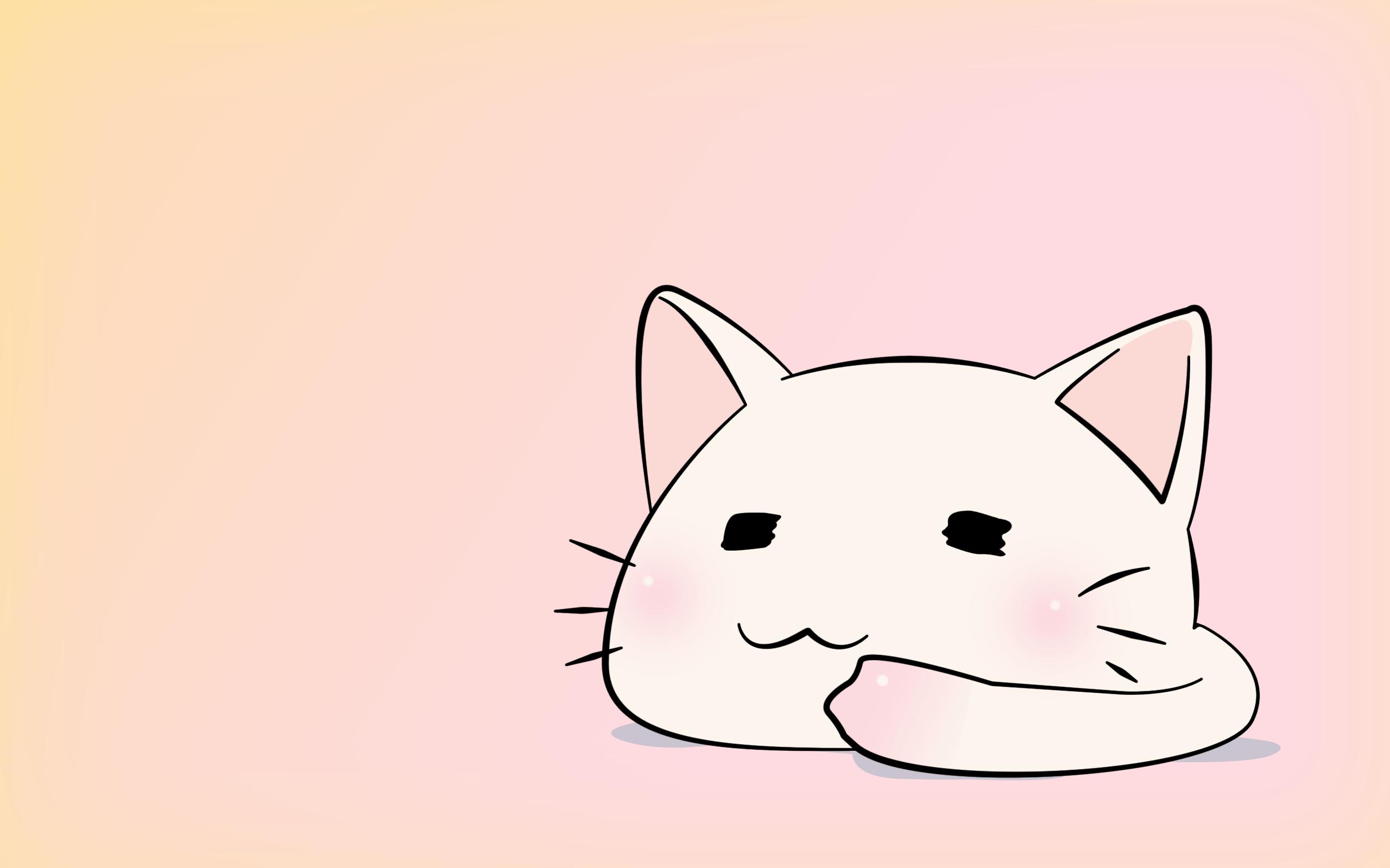 Hình nền chibi mèo dễ thương