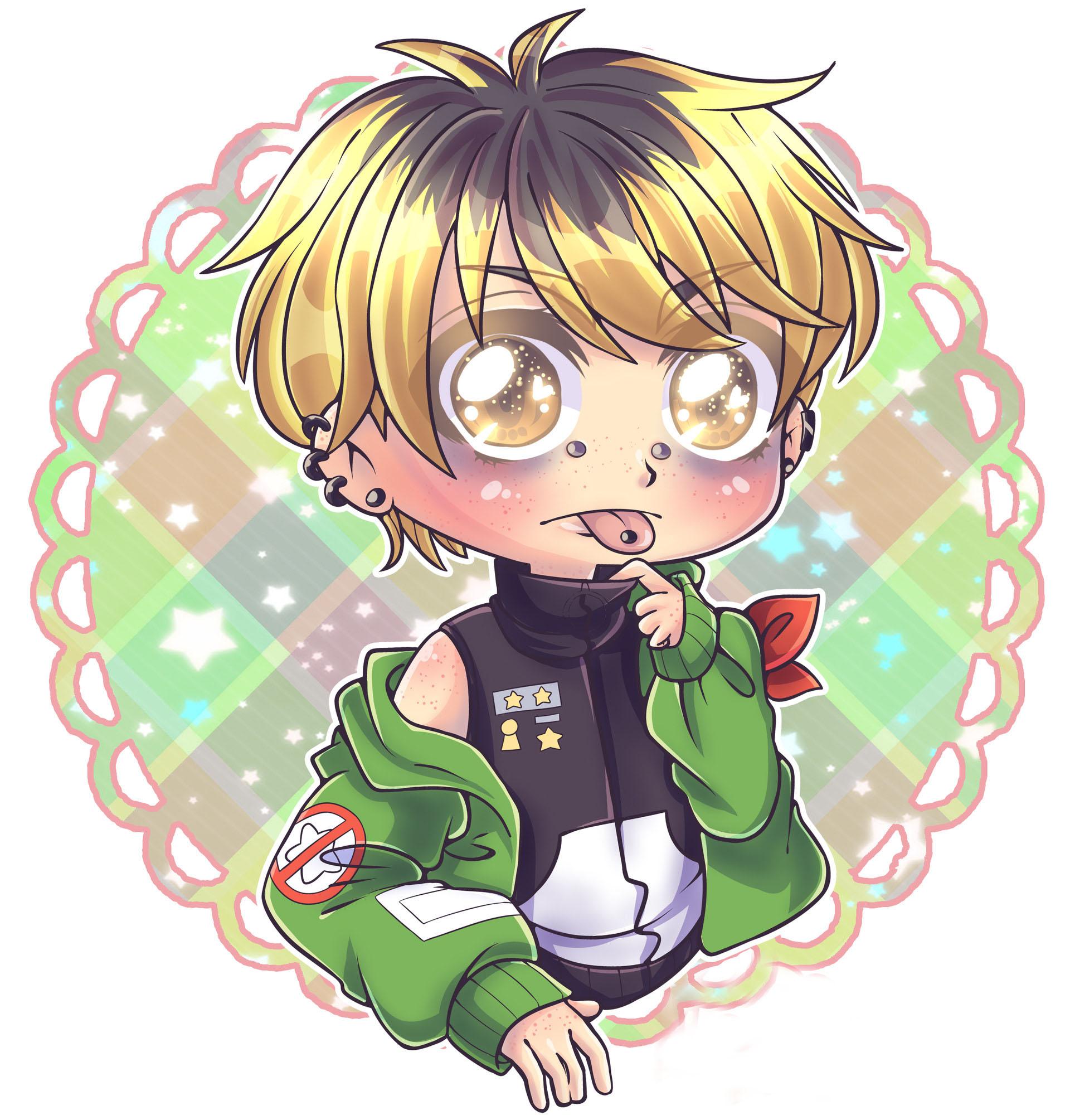 Ảnh anime chibi boy cute
