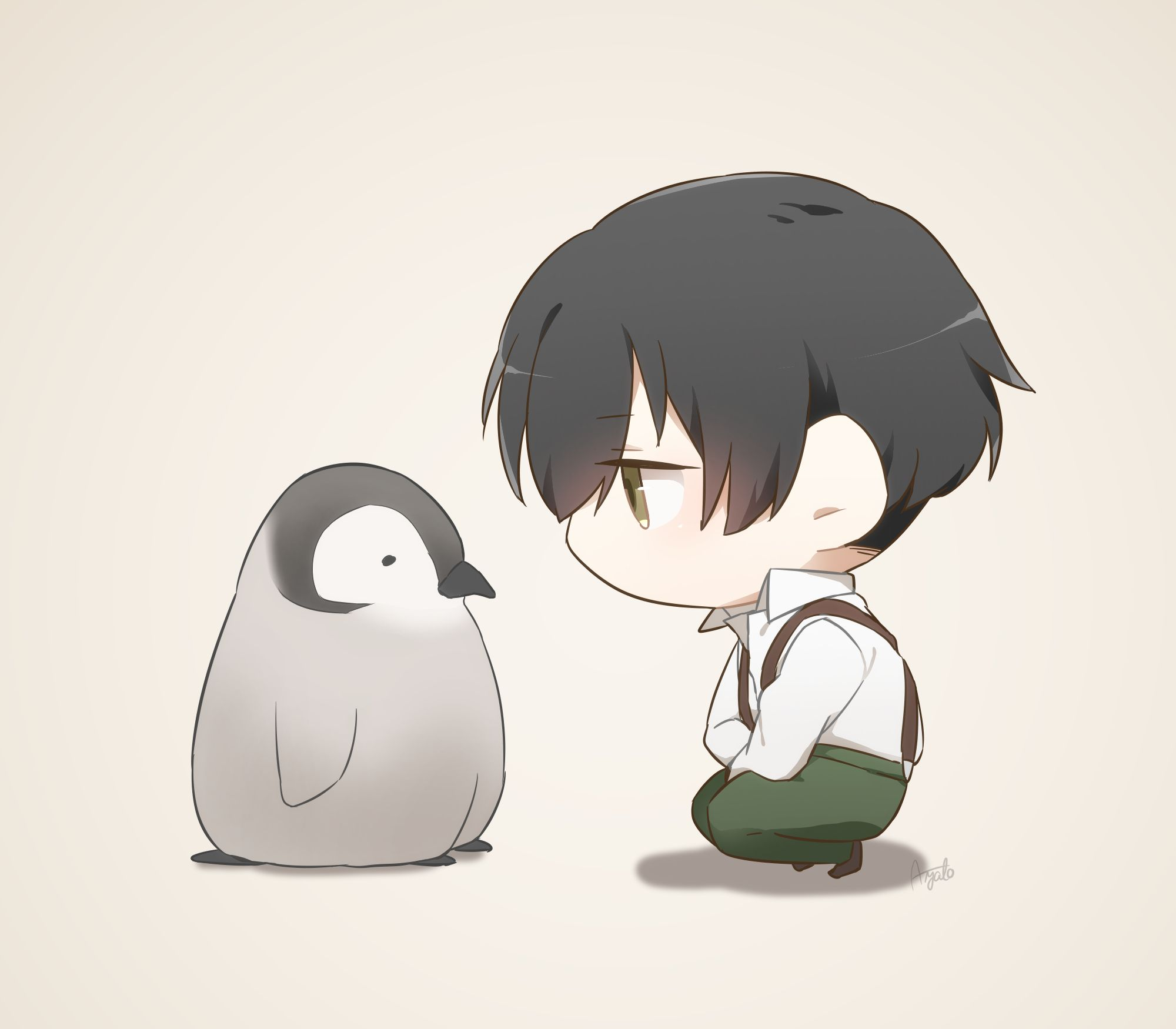 Ảnh anime chibi boy dễ thương
