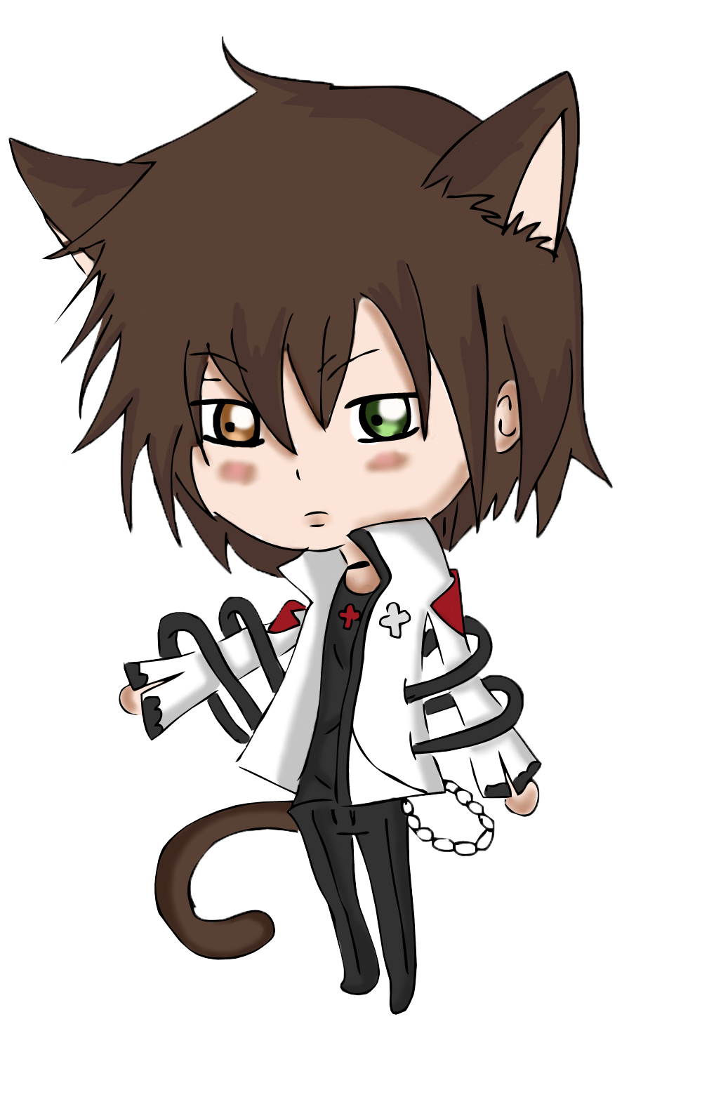 Ảnh anime chibi boy lạnh lùng và cute