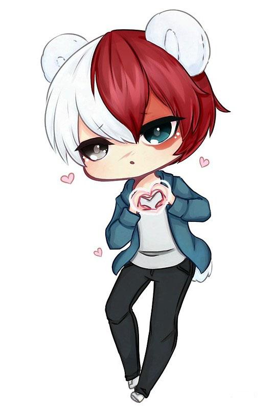 Ảnh đẹp anime chibi boy cute