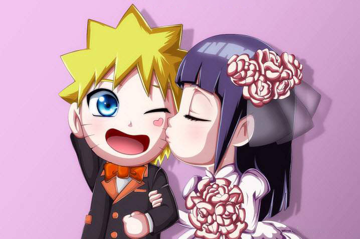 Ảnh đẹp hinata hôn naruto