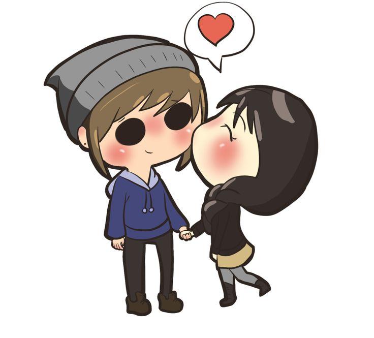 Ảnh hoạt hình tình yêu đẹp và dễ thương