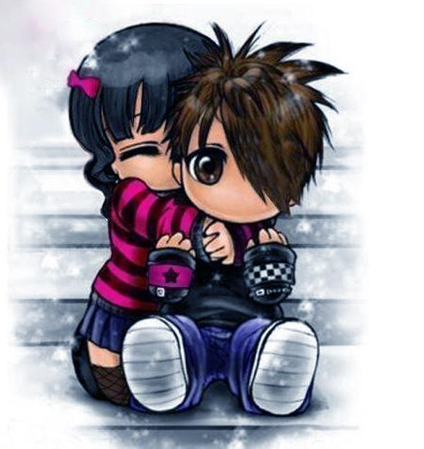 Ảnh tình yêu hoạt hình cute