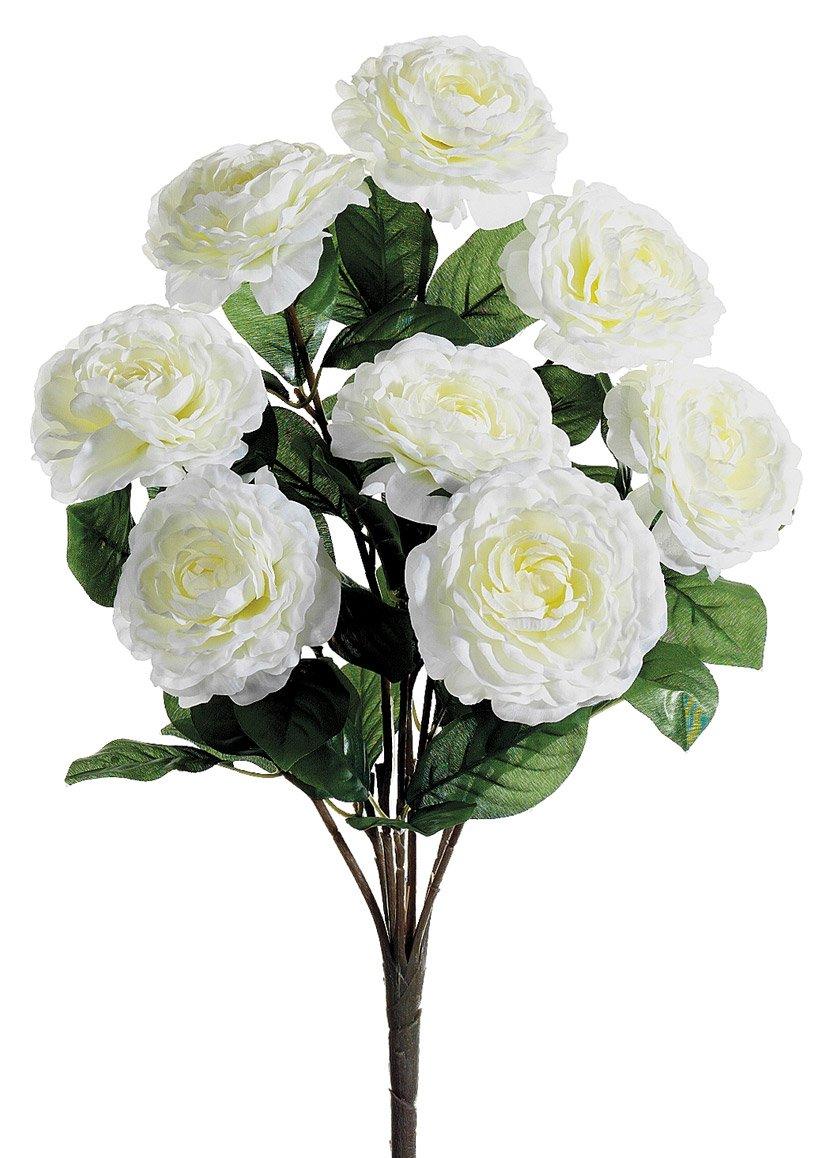 Bó hoa trà mi trắng giả rất đẹp