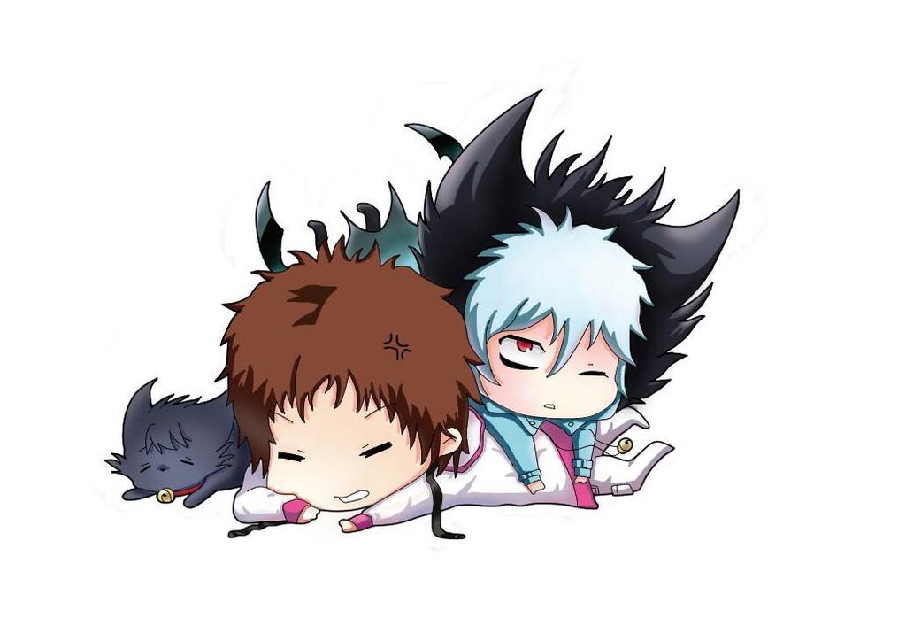 Hình ảnh anime boy chibi