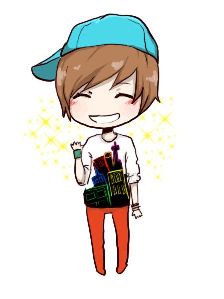 Hình ảnh chibi boy cute