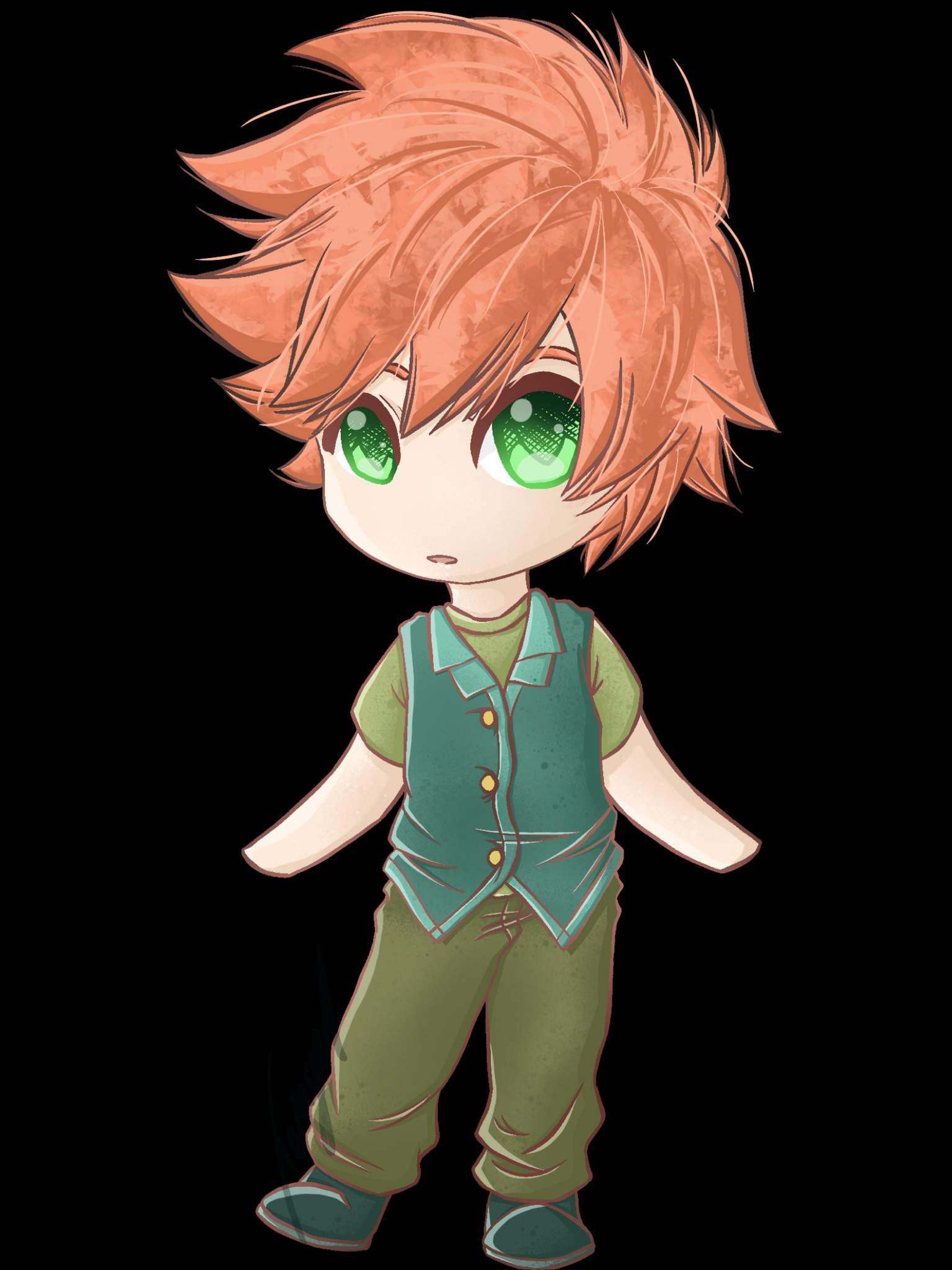 Hình ảnh đẹp về anime chibi boy
