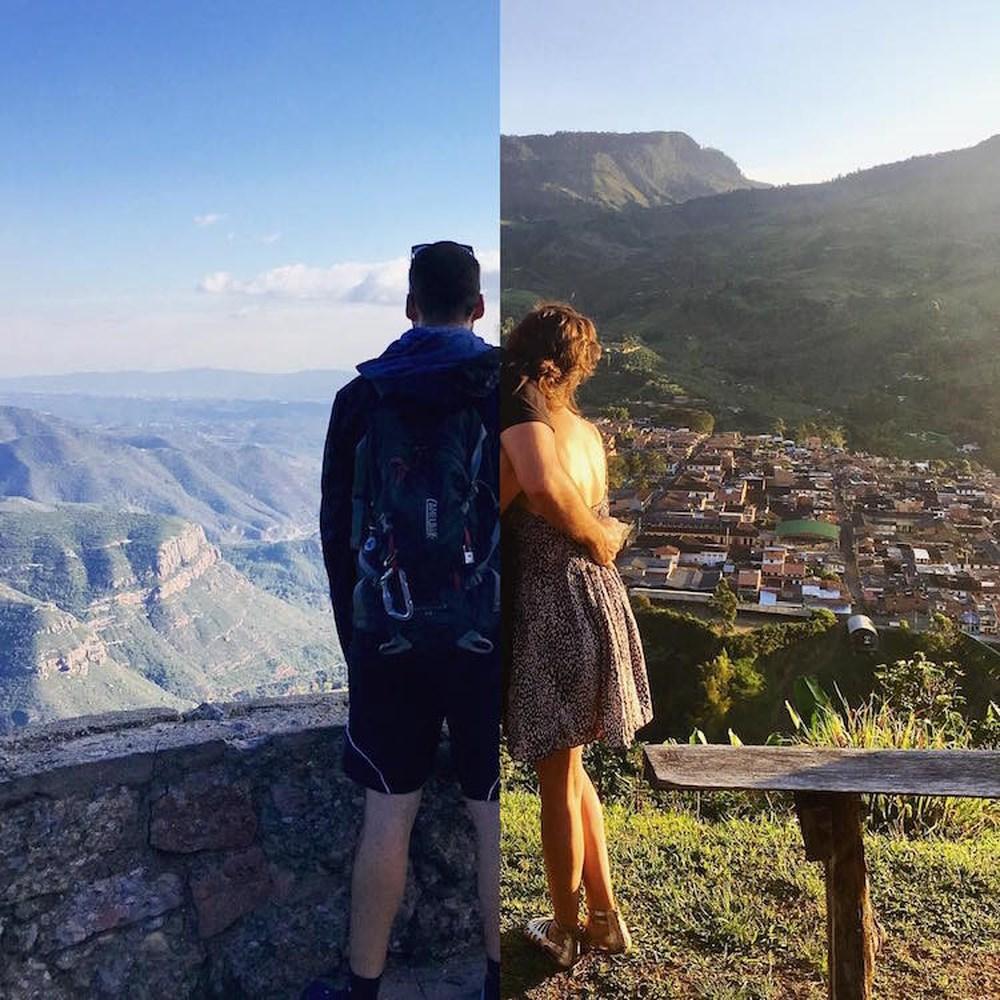 Hình ảnh ghép cặp đôi yêu xa