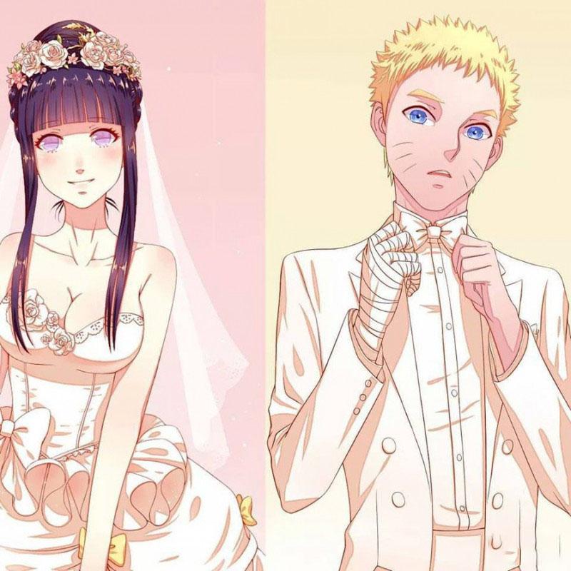 Hình ảnh naruto cưới hinata
