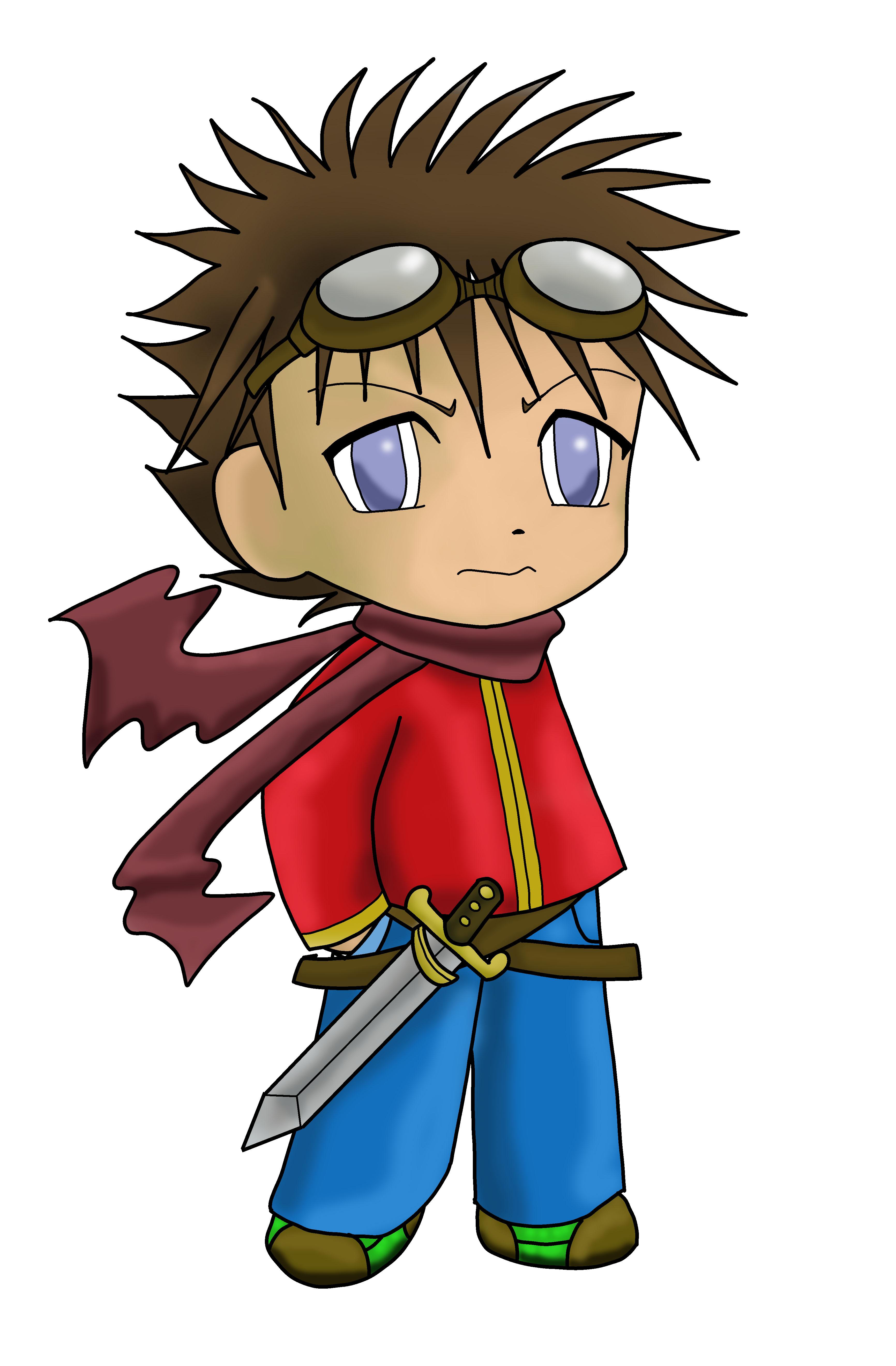 Hình ảnh nhân vật anime chibi boy