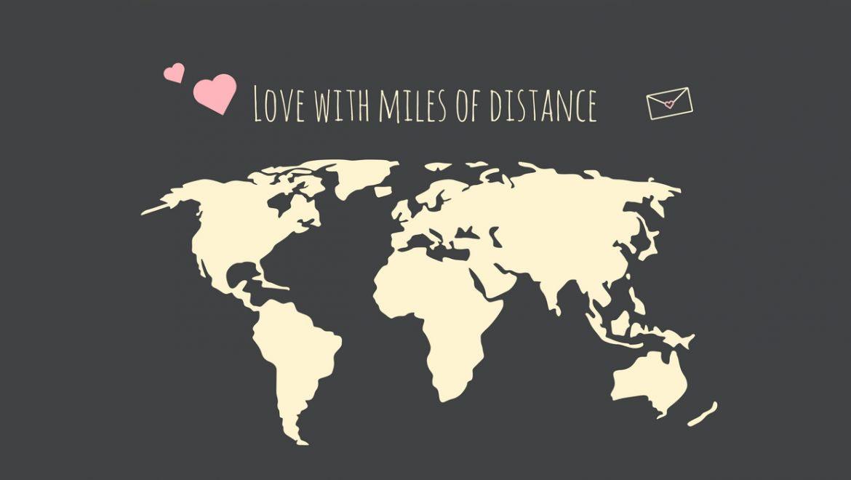 Hình ảnh tình yêu xa trên thế giới