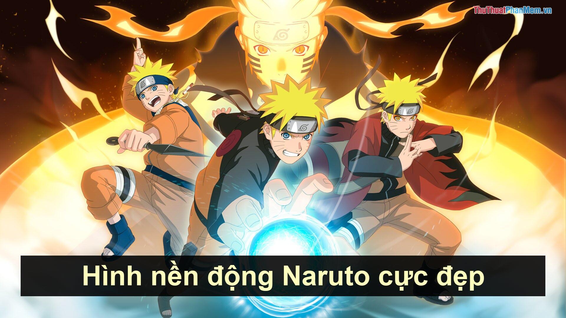 Hình nền động Naruto cực đẹp