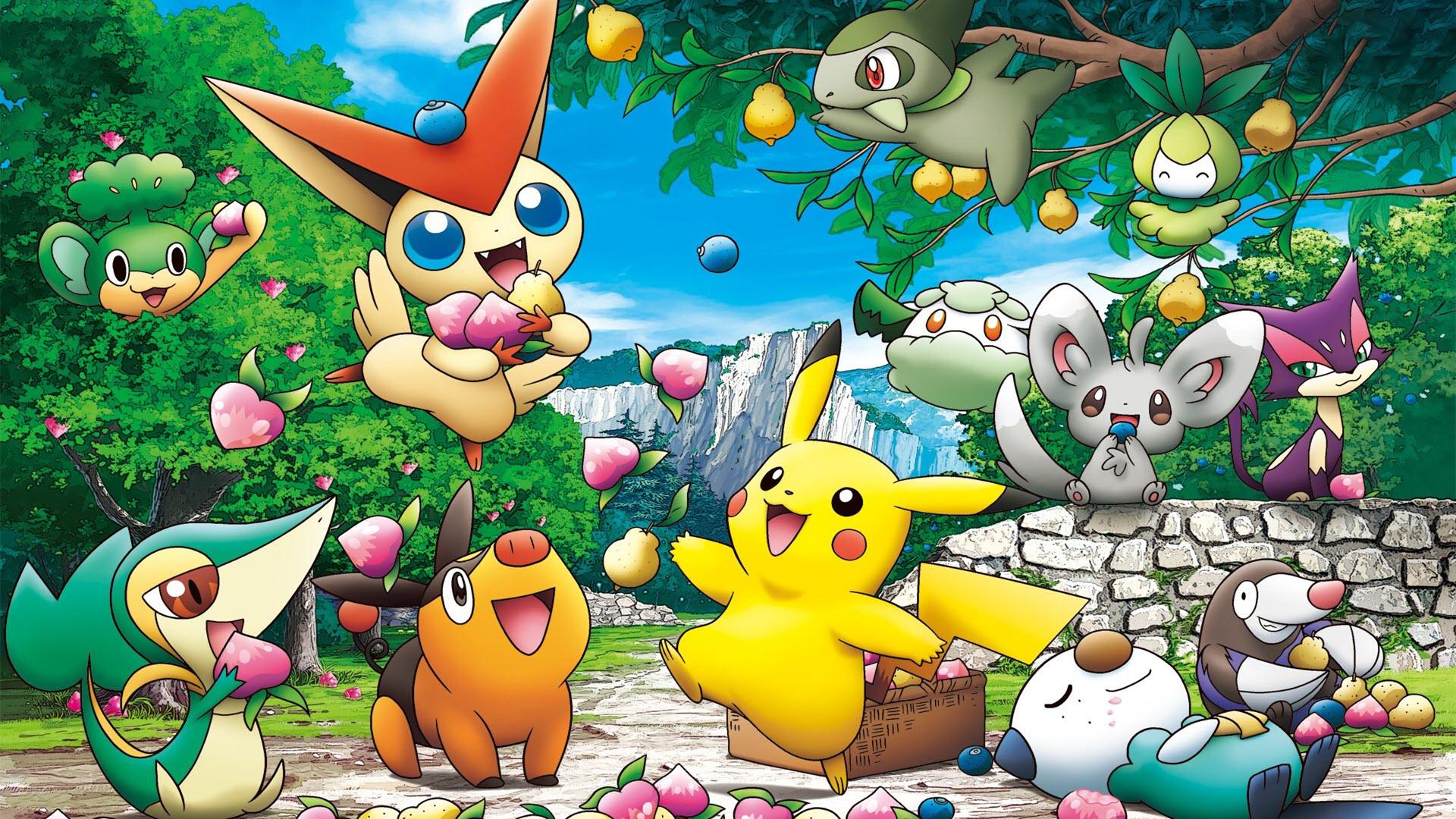 Hình nền hoạt hình pokemon