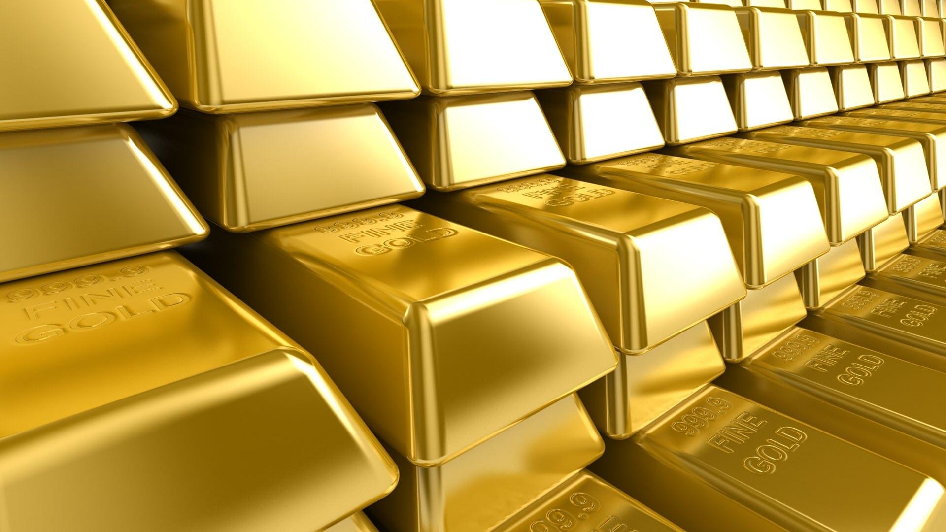 Hình nền vàng thỏi