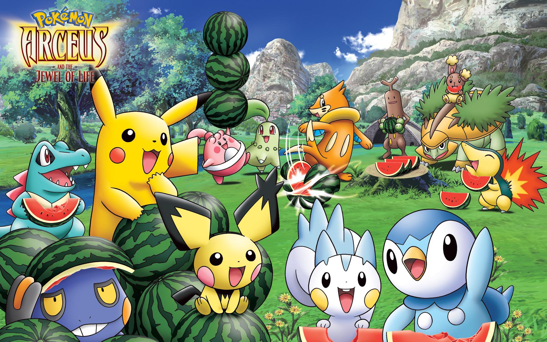 Hình nền về pokemon