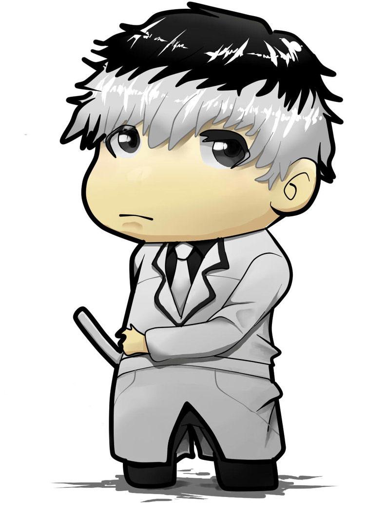 Hình vẽ anime chibi boy
