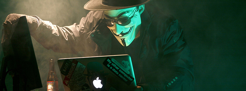 Ảnh bìa Anonymous đẹp nhất
