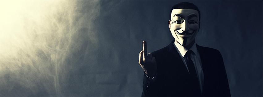 Ảnh bìa Anonymous đẹp