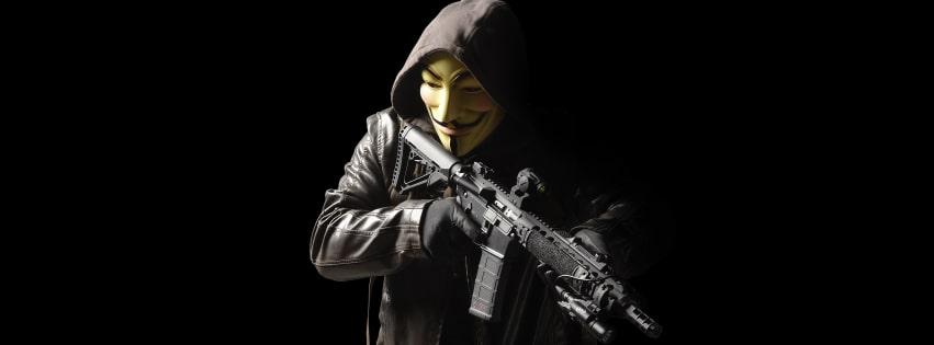 Ảnh bìa Facebook Hacker chất