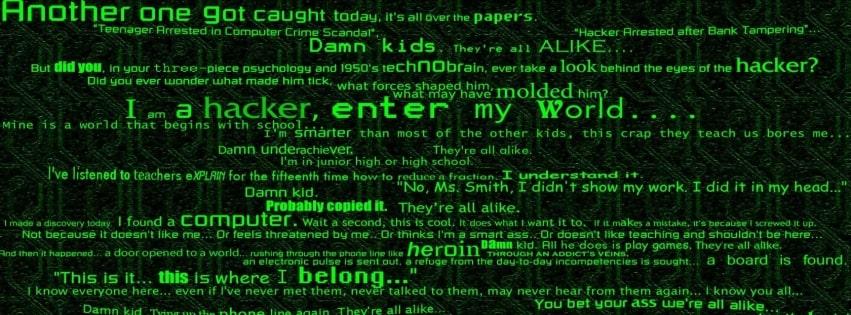 Ành bìa Facebook Hacker đáng sợ