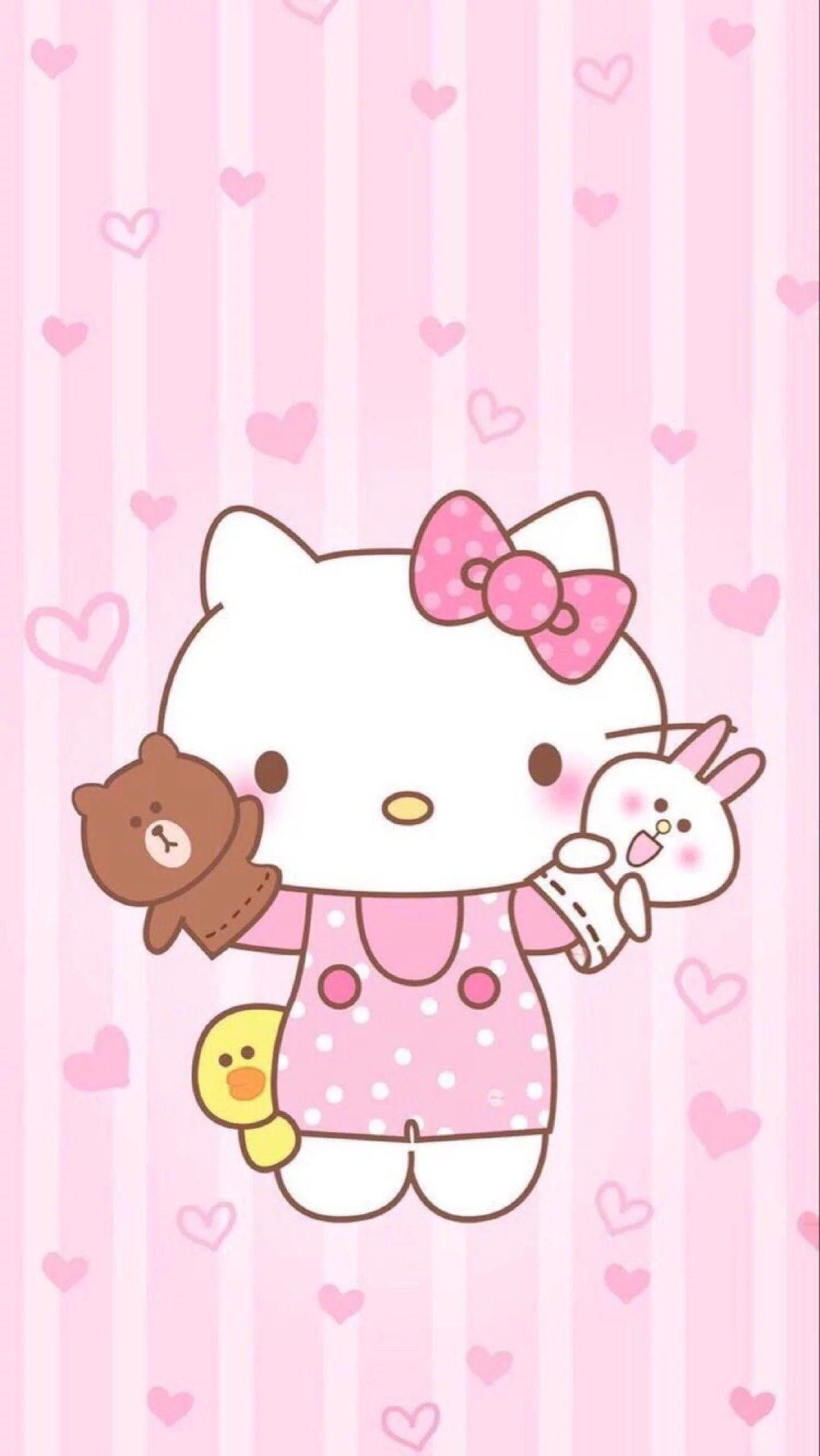 Hello Kitty chơi rối tay