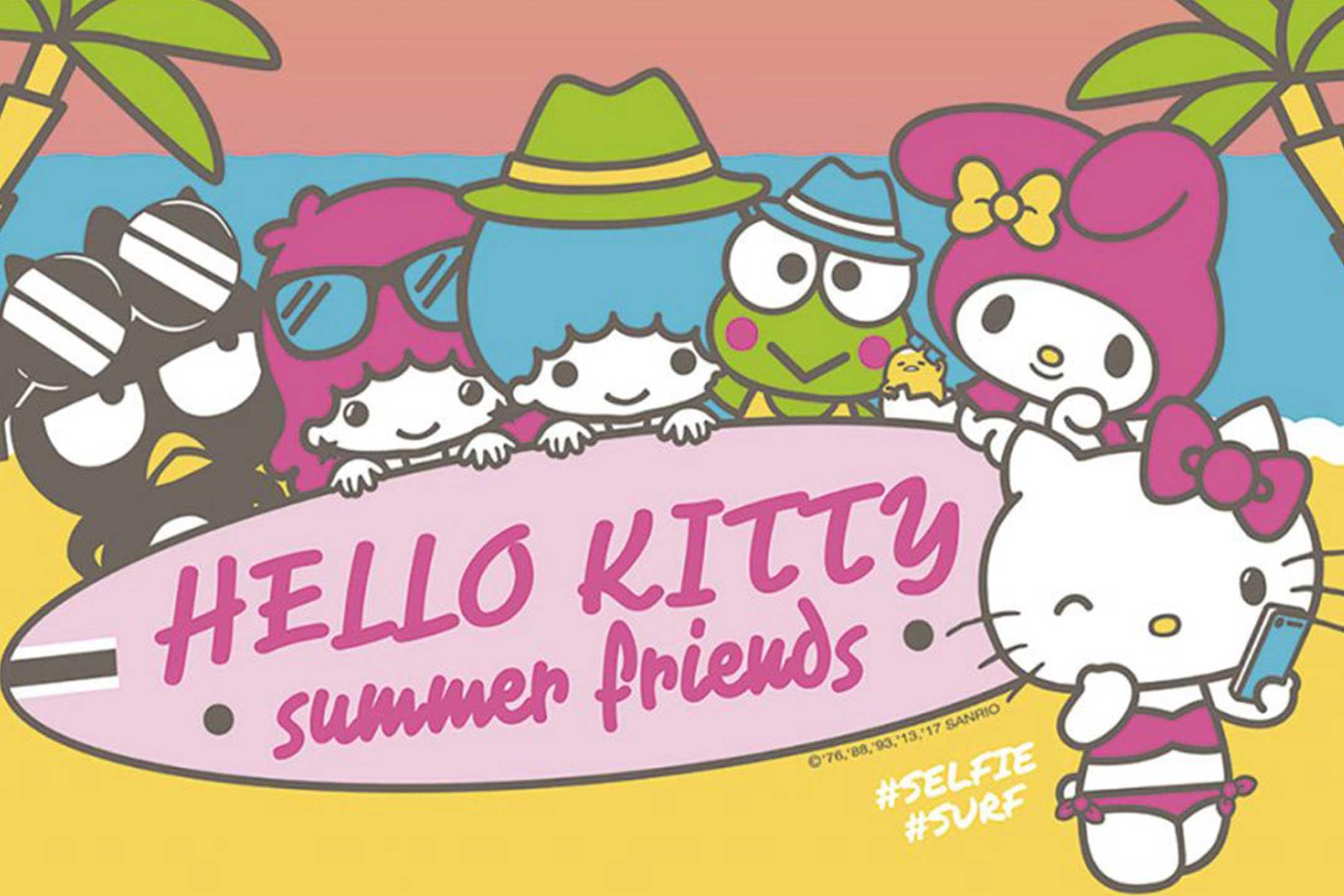 Hello Kitty và những người bạn mùa Hè