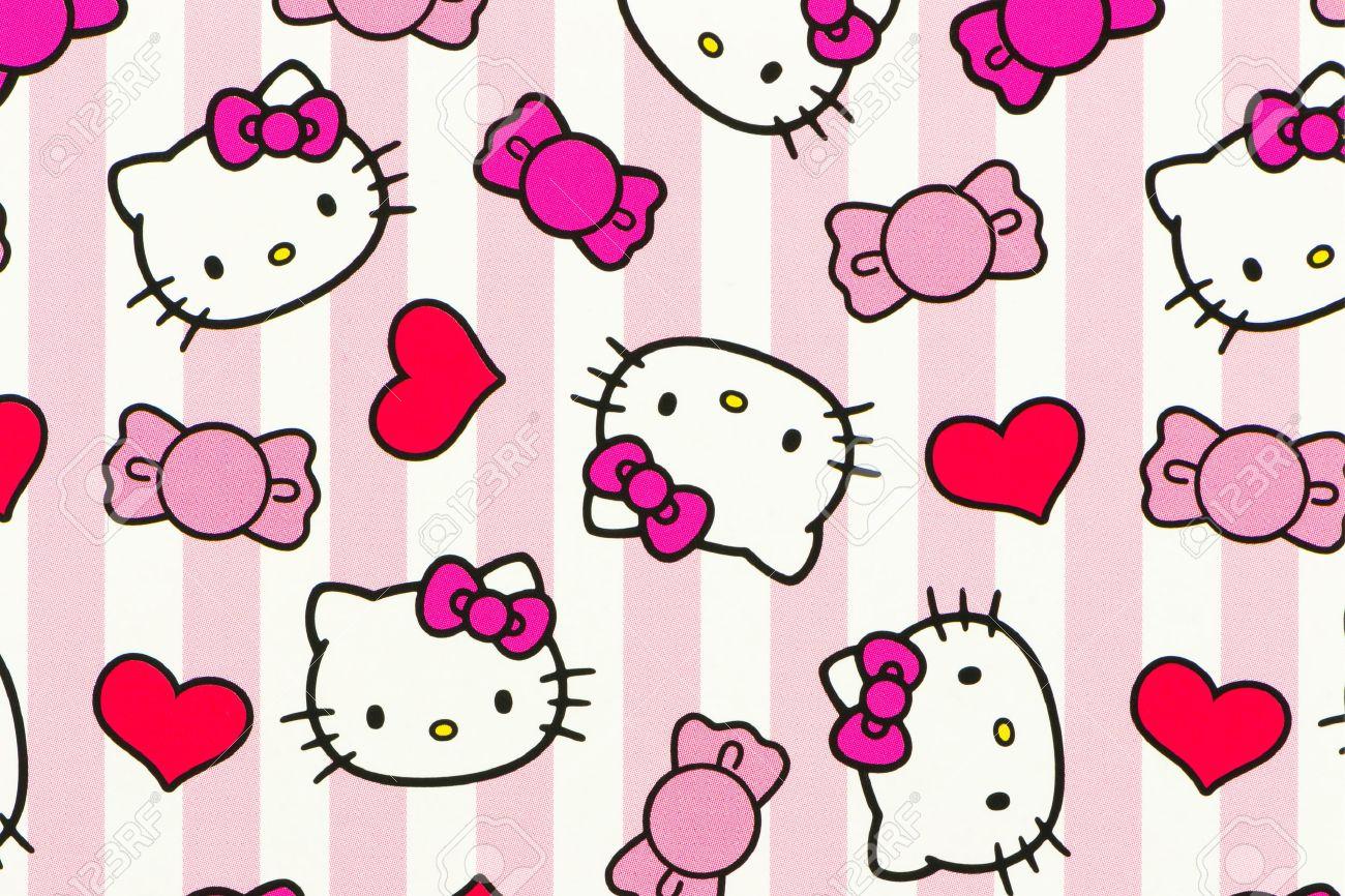 Hình ảnh những đầu Hello Kitty xinh xắn đáng yêu