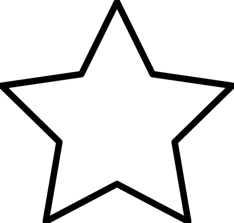 Tô màu ngôi sao đẹp