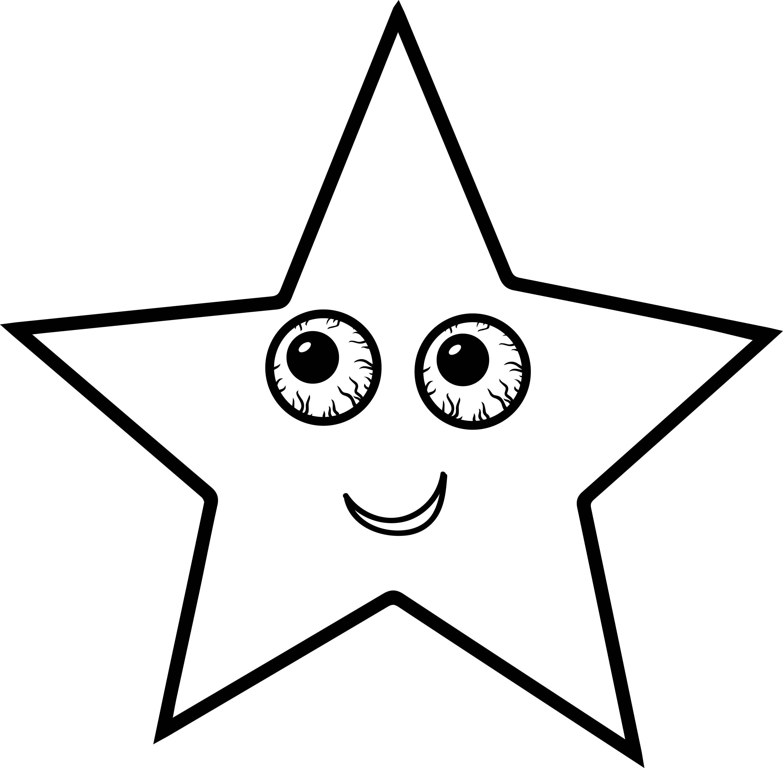 Tranh tô màu ngôi sao