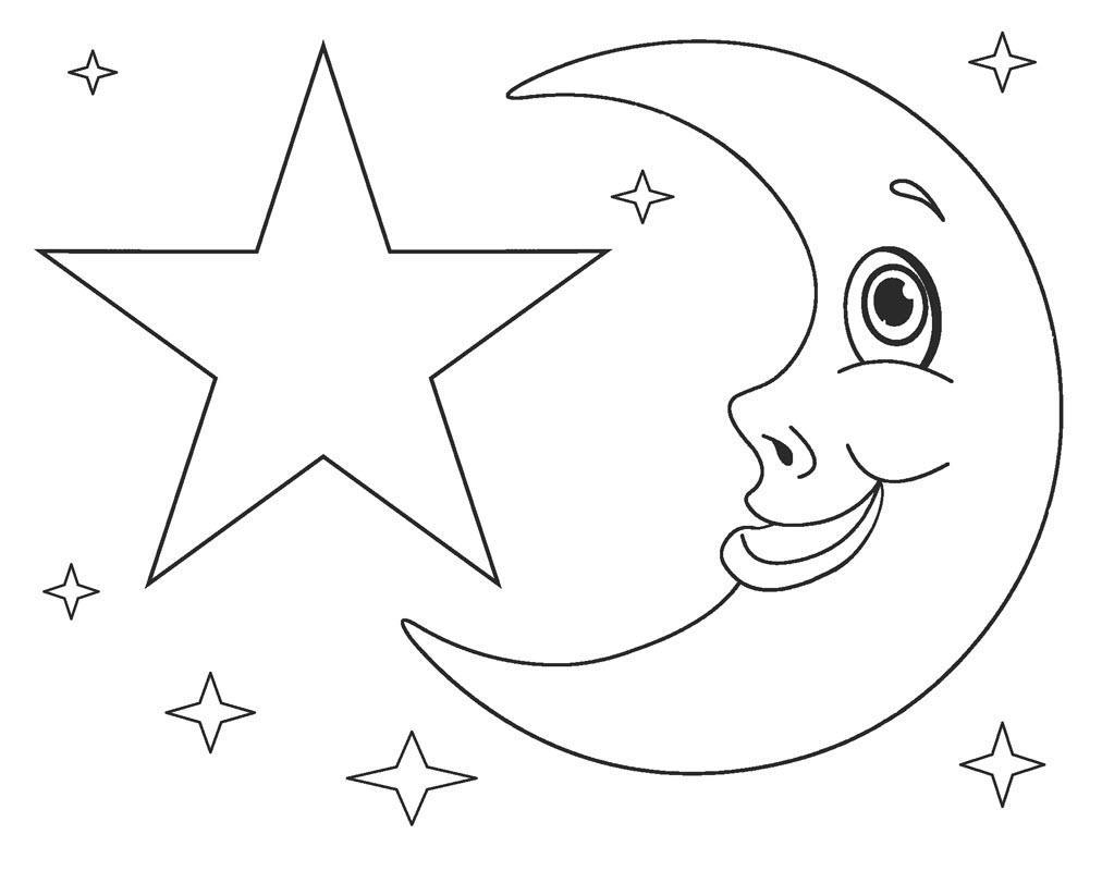 Tranh vẽ ngôi sao tô màu cho bé đẹp nhất