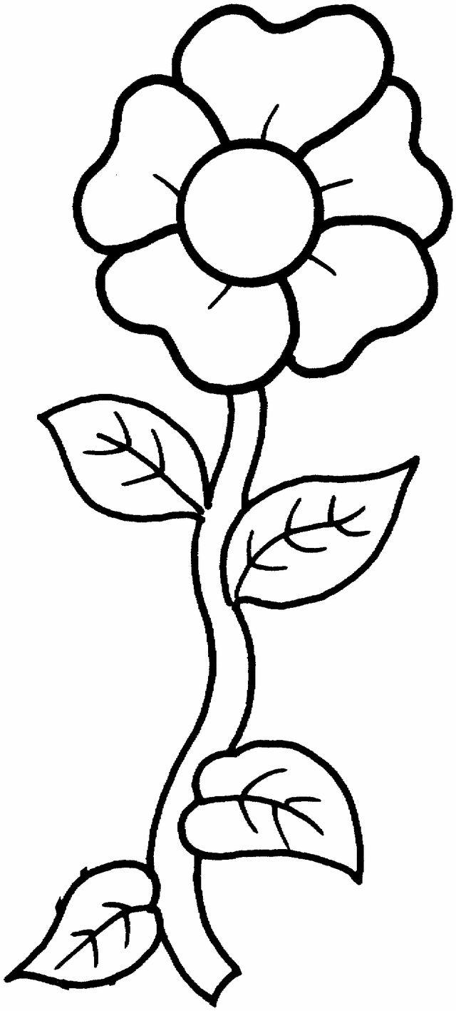 Tranh vẽ tô màu bông hoa hướng dương