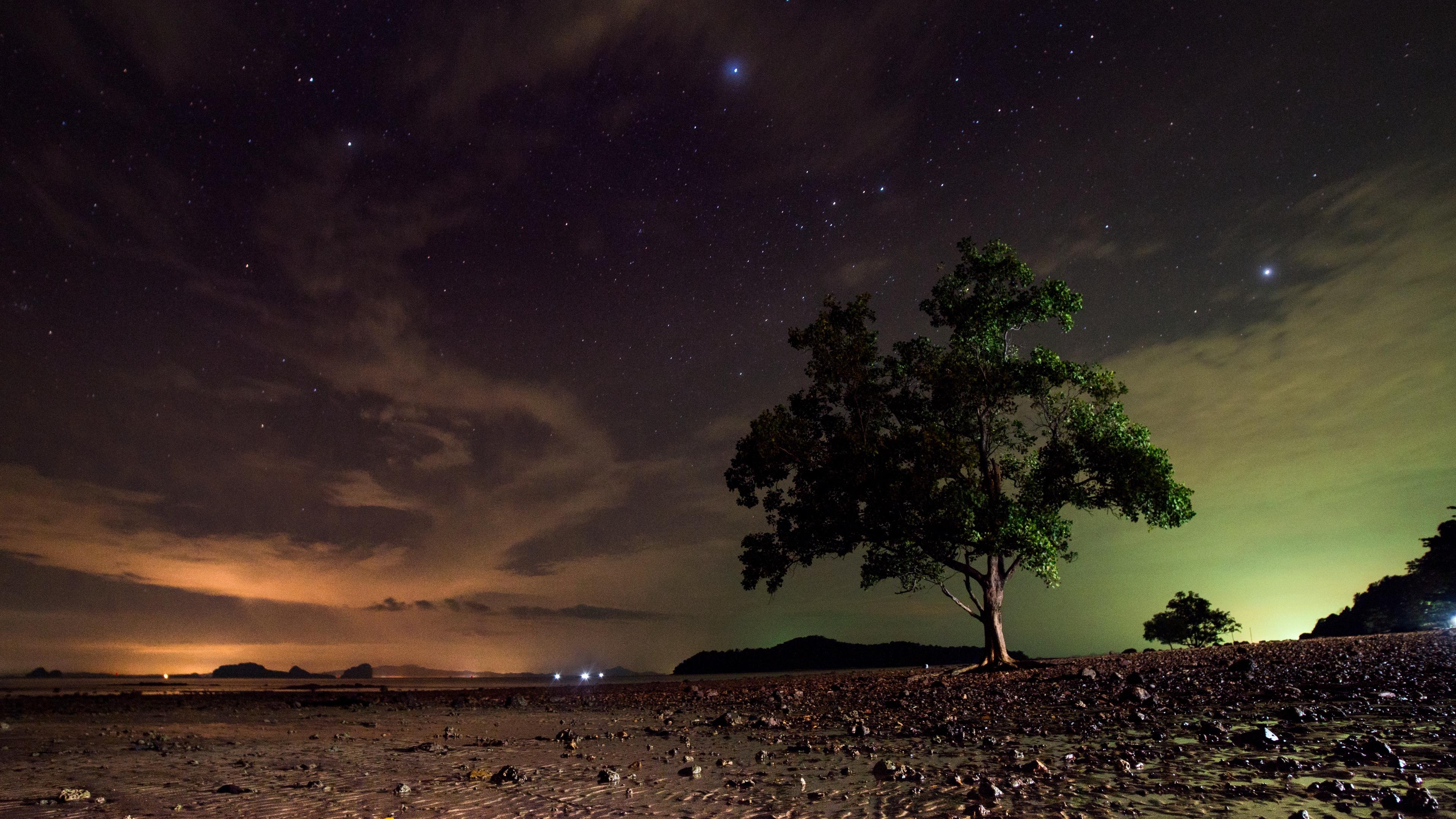 Hình nền thiên nhiên cực quang 4K đẹp