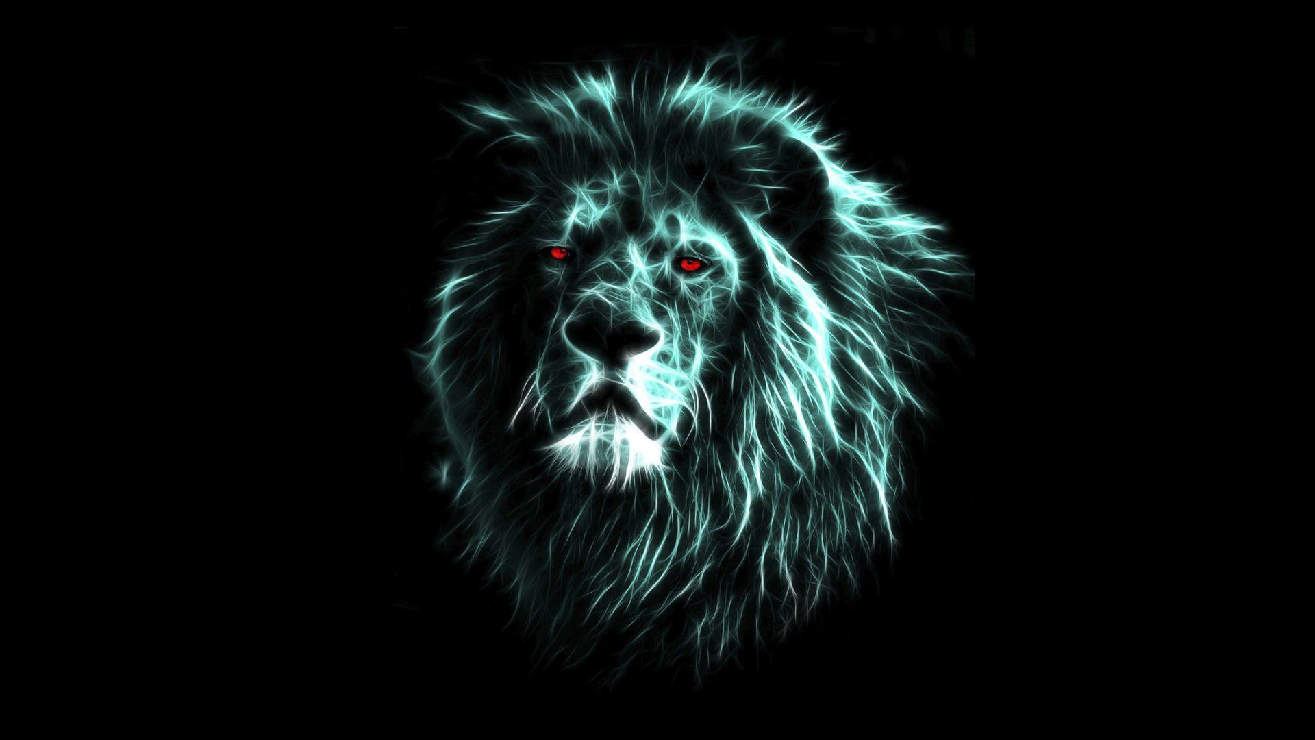 Ảnh nền sư tử 3D