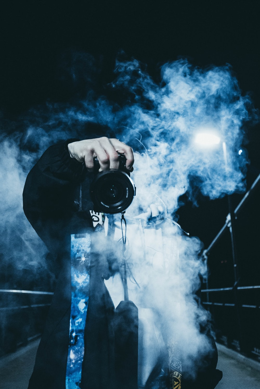 Hình ảnh đẹp với khói