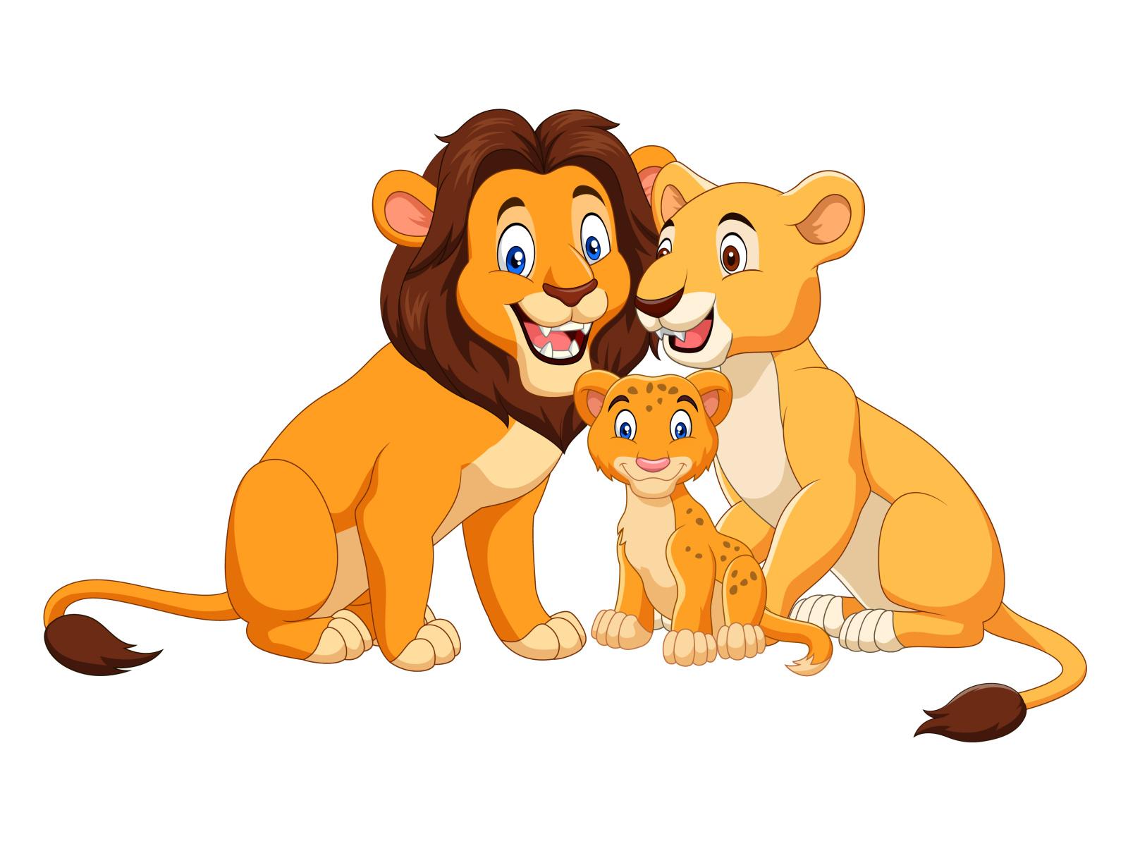 Hình ảnh hoạt hình sư tử đẹp