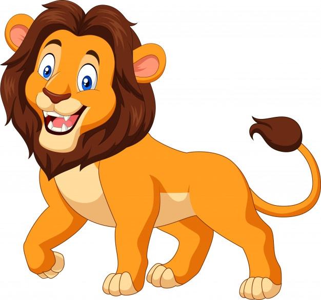 Hình ảnh hoạt hình sư tử