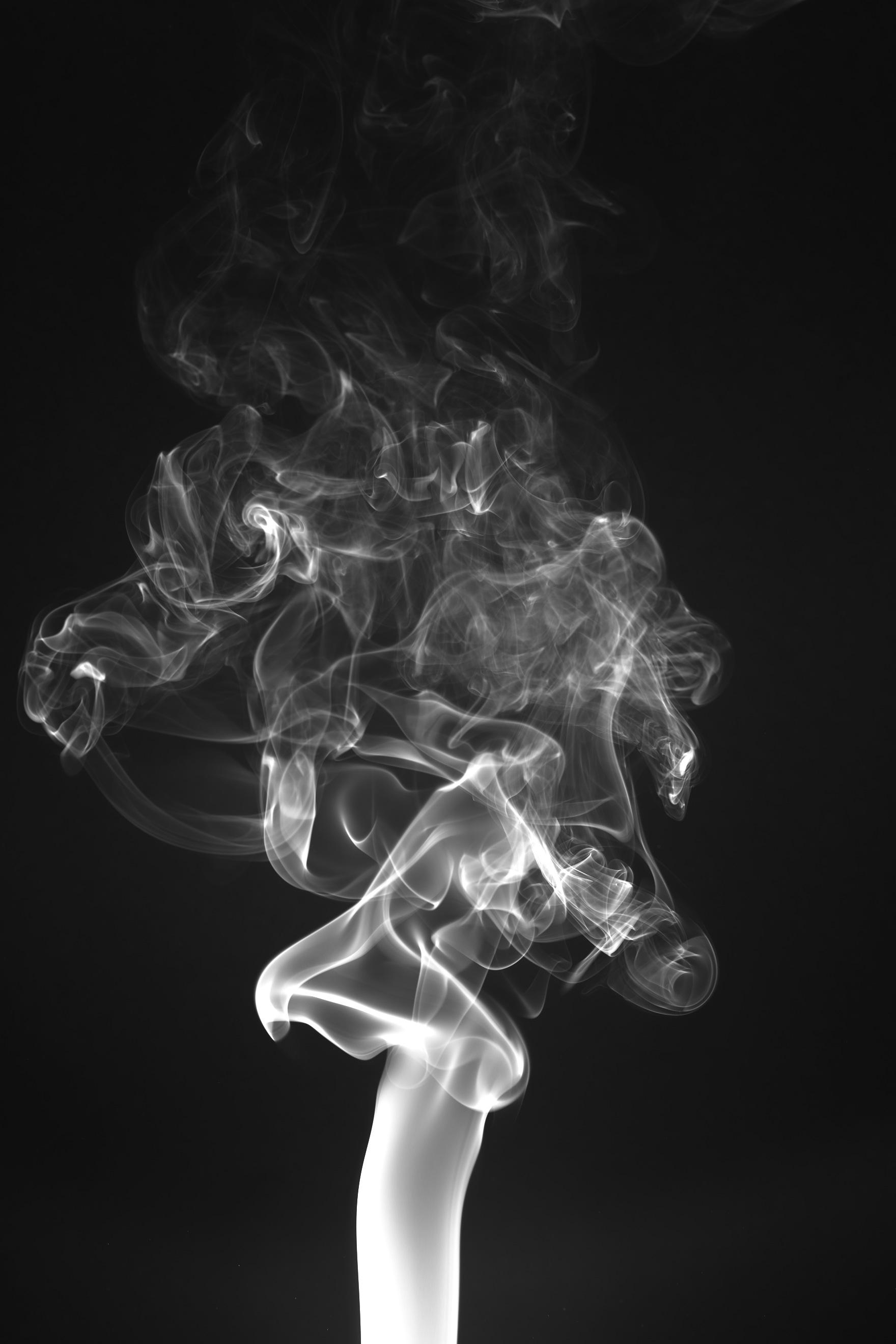 Hình ảnh khói bay lên