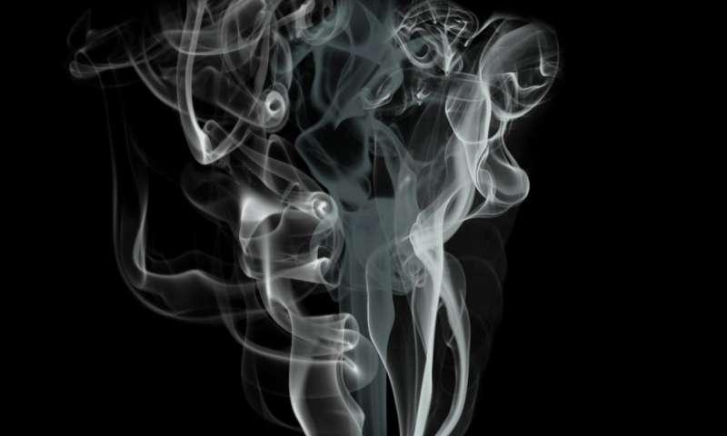 Hình ảnh khói bay