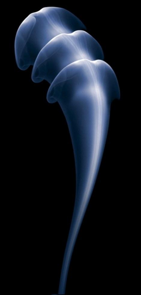 Hình ảnh khói độc đáo